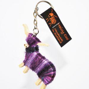 Hairy Coo Purple
