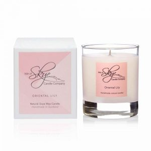 Oriental-Lily Candle