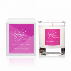 Pomegranate-Plum Candle