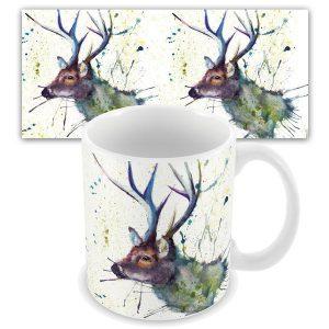 KW - Splatter Stag - mug