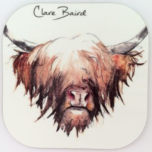 CB - Highland Cow_coaster